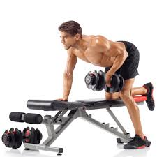 Adjustable Dumbbell Weight Bench Selecttech 552 Adjustable Dumbbells By Bowflex Improve Your Grip