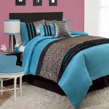 Blue Bed Set Kenya 5 Piece Junior Comforter Set