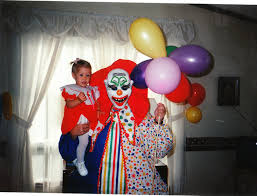 clowns for birthday the clown that attended my birthday party back in 93 not