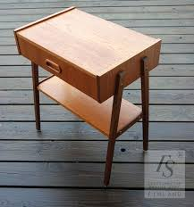 Teak Side Table Narrow Teak Coffee Table Rascalartsnyc