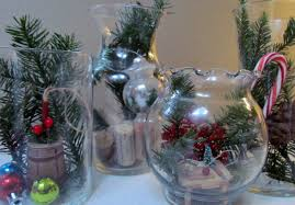Decorate A Vase Diy Terrarium Holiday Glass Jar Vase Christmas Decoration Glass