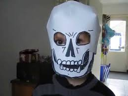 coloring page dazzling homemade skull mask hqdefault coloring