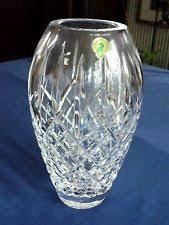 Large Waterford Crystal Vase Tipperary Crystal