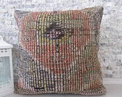 Ottoman Pillow Cushion by Aztec Pillow Etsy