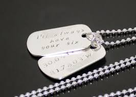 mens dog tags engraved sterling silver dog tags personalized mens dog tags