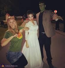Frankenstein Halloween Costumes Frankenstein U0026 Bride Frankenstein Couple Costume
