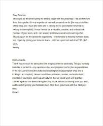 official thank you letter format u2013 brian
