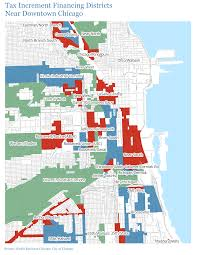 Downtown Chicago Map by Get The Data World Business Chicago Economic Growth And Jobs
