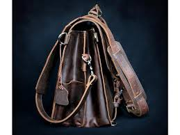 Rugged Leather Backpack Selvaggio Handmade Rugged Leather Briefcase U0026 Heavy Duty Backpack
