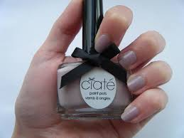 the edge of beauty marie claire ciate paint pots in bonbon