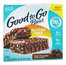 buy south beach diet good to go bars gluten free dark chocolate