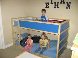 3 Kid Bunk Bed Kids Bedding Ikea How To Arrange The Bunk Bed For 3 Kids Pretty