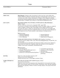 Format Resume Download Resume Examples Example Resumes Templates Formats From Land That