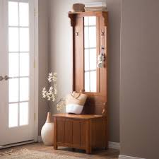Mudroom Hall Tree by Hall Tree With Storage Bench Mirror Shoe Benches For Entryway Coat