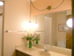 hanging light fixtures for bathrooms with remarkable bathroom