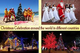 celebration around the world in different countries