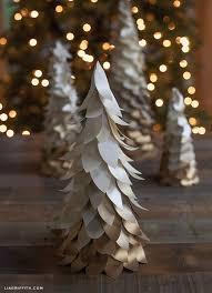 Mini Christmas Tree Crafts - woodland wonderland mini ombre christmas tree christmas tree