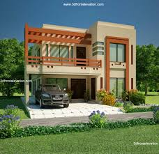 storey house design with 3d floor plan 2492 sq feet home front