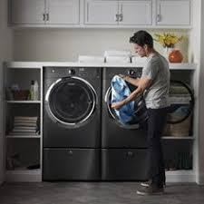 Front Load Washer With Pedestal Lavadora Y Secadora Baños Pinterest Lavaderos Lavar Y