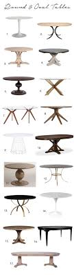 Best  Round Dining Tables Ideas On Pinterest Round Dining - Kitchen table sizes