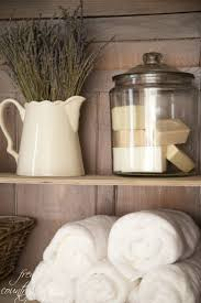 Ideas For Bathroom Decor by Best 25 Bathroom Shelf Decor Ideas On Pinterest Half Bath Decor