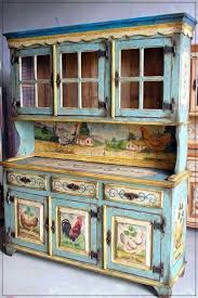 Country Hutch Furniture Painted Hutch Furniture Pinterest Painted Hutch Paint
