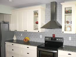 gray kitchen with white cabinets tiles backsplash awesome grey subway tile backsplash kitchen