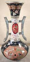 Japanese Dragon Vase Dragon Hartman Rare Art