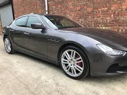 maserati ghibli grey black rims f1 alloys chester home
