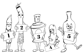 say no to drugs coloring pages 5druglineup png