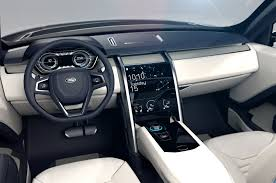vintage land rover interior land rover discovery vision concept unveiled photo u0026 image gallery