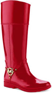 women u0027s black tall logo rain boot michael kors men rain boot