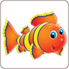 dessin en couleurs à imprimer animaux poisson numéro 19111