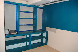basement built ins paint color update and ikea spare bedroom