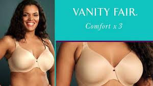 Vanity Fair Plus Size Bras Vanity Fair Comfort X 3 Full Figure 76364 Youtube