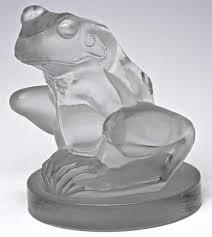 lalique ornaments frog 10516 rlalique