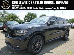 jeep durango interior 2015 brilliant black crystal pearl dodge durango r t awd