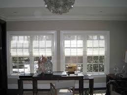 dinning bedroom blinds pottery barn roman shades kitchen window