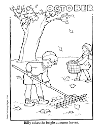 autumn coloring pictures 15