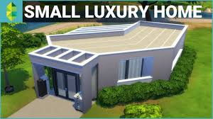 Luxury Home The Sims 4 House Building Small Luxury Home Youtube