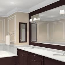 Trim For Mirrors In Bathroom Bathroom Mirror Vanity Mirrors Beveled Large Framed