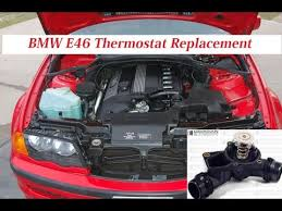 2006 bmw 325i thermostat replacement bmw e46 thermostat replacement how to replace thermostat on bmw
