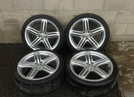 audi rs6 wheels 19 genuine used alloys audi 19 alloys