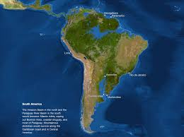 South America Rivers Map by Map Of Sea Level Rise South America History In The Making