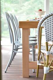 screened porch updates metal bentwood chairs and a diy dining Build Dining Room Chairs