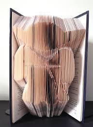 yoda star wars book folding pattern diy gift for book art