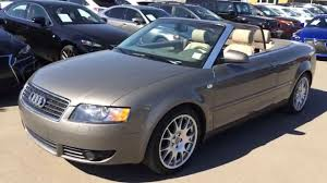 audi a4 coupe convertible pre owned 2005 beige audi a4 2005 cabriolet 1 8t cvt review