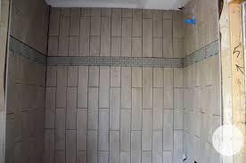 Bathroom Tile Shower Design Shared Bath Tile Design Flip House Tile Part 1 Plantation Relics