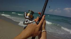 light up fishing pole surf fishing how to cast a surf rod youtube