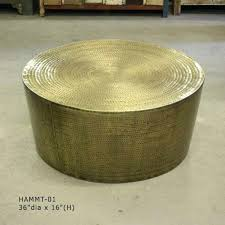 brass drum coffee table metal drum table brass drum coffee table wood drum coffee table